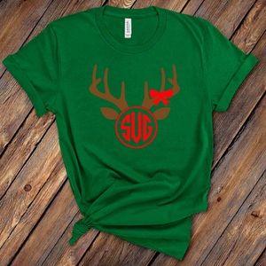 Reindeer Monogram T-Shirt